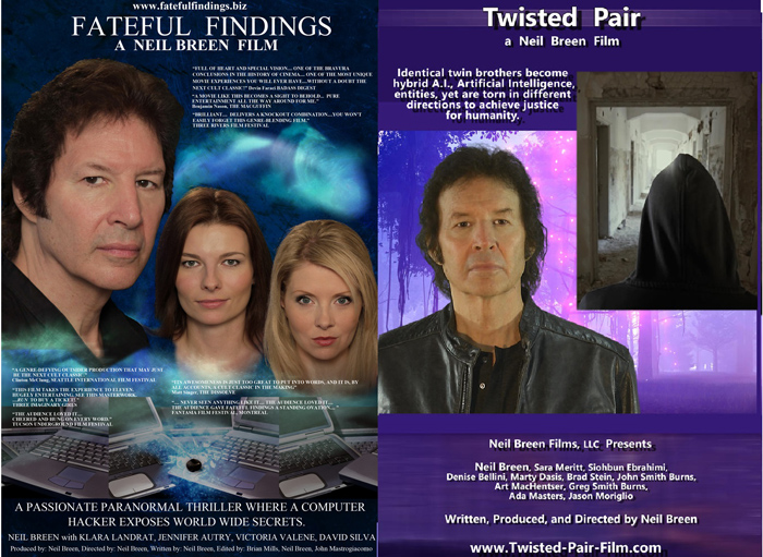 Two of Neil Breen's feature films will be shown at The Redgrave Theatre.