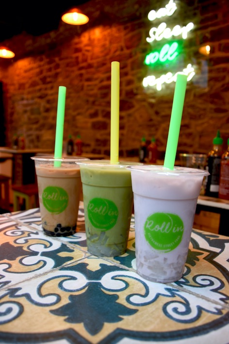 Bubble teas from Rollin Vietnamese in Bristol