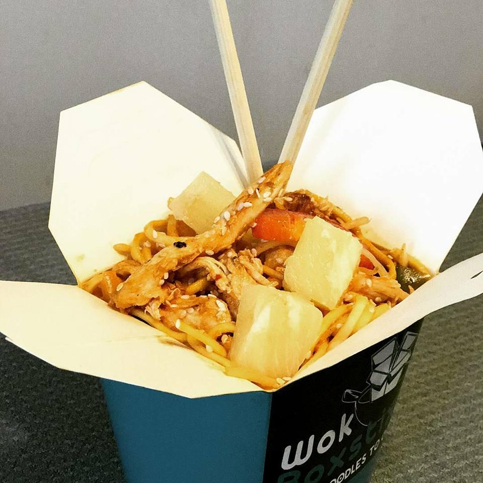 Chicken Teriyaki Noodles Wok Boxstix in Bristol