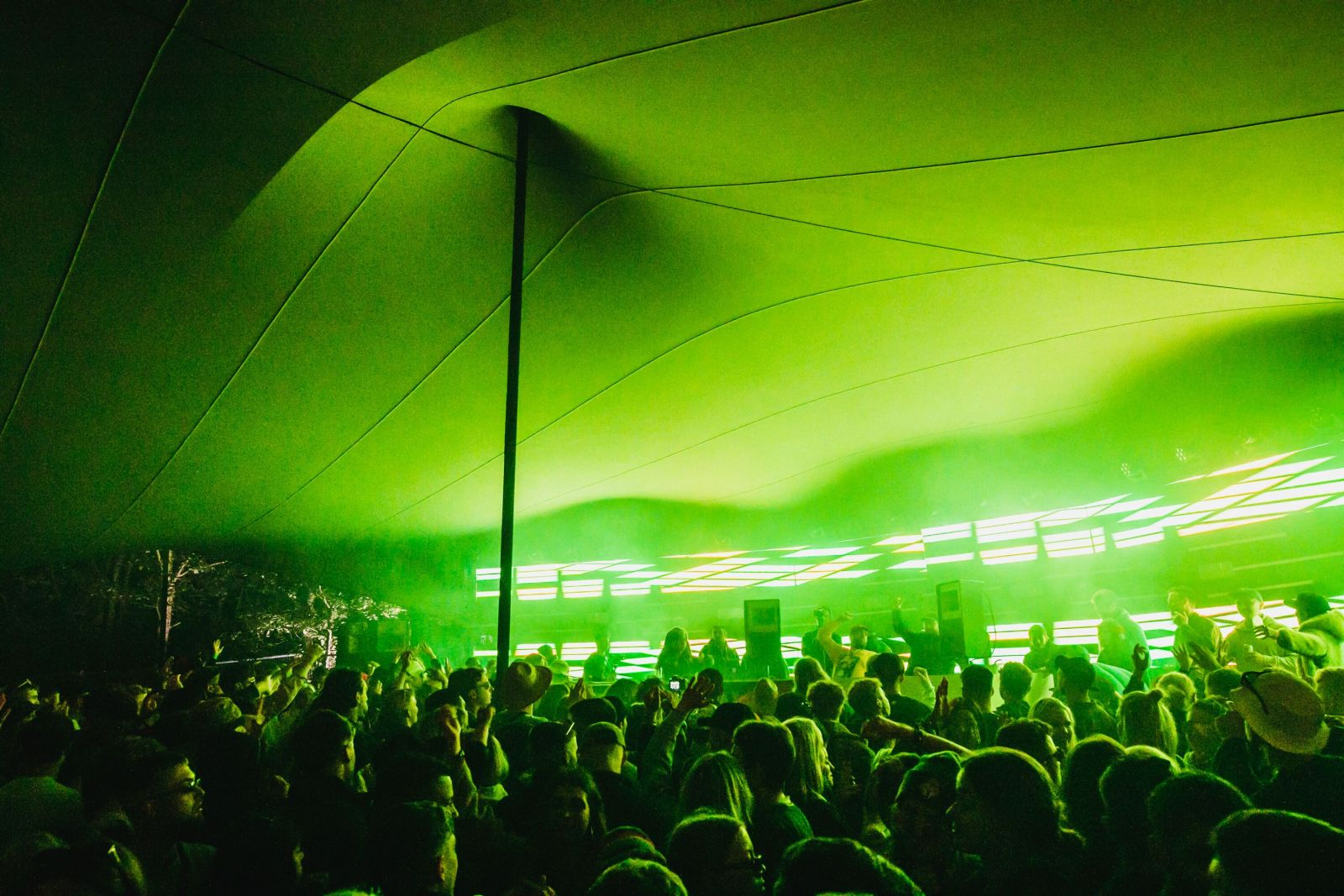 The Curve // Friday, Gottwood 2019. Image: Jake Davis for Khroma Collective