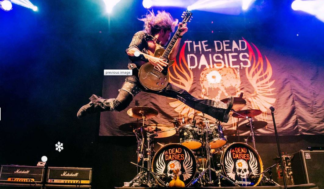 The Dead Daisies have toured around the world since forming in 2012