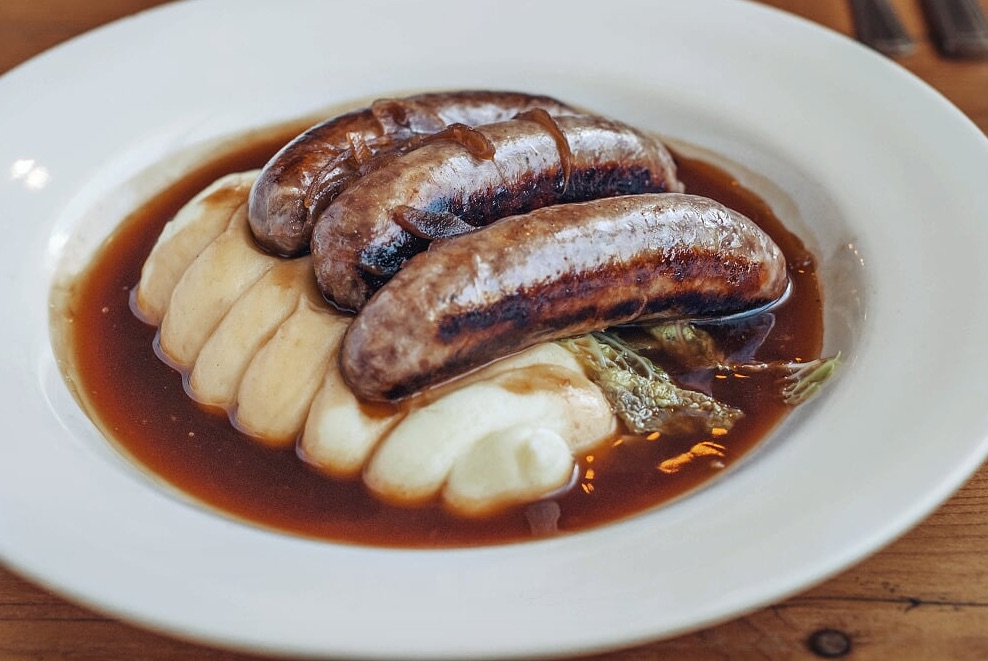 Banging Bangers! Gloucester Old Spot Sausages and Mash