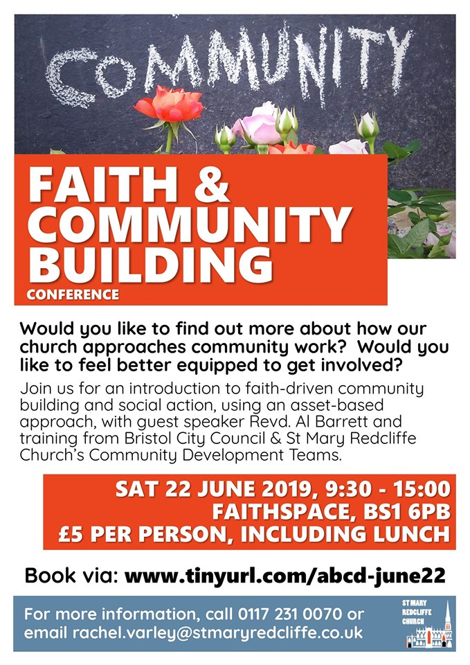 Faith & Community Building at St Mary Redcliffe.