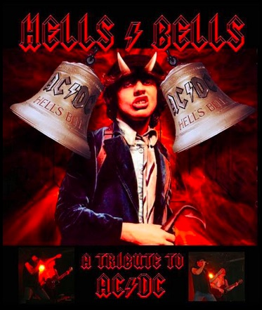 Hells Bells the AC/DC Tribute Band in Bristol on 19th February 2016