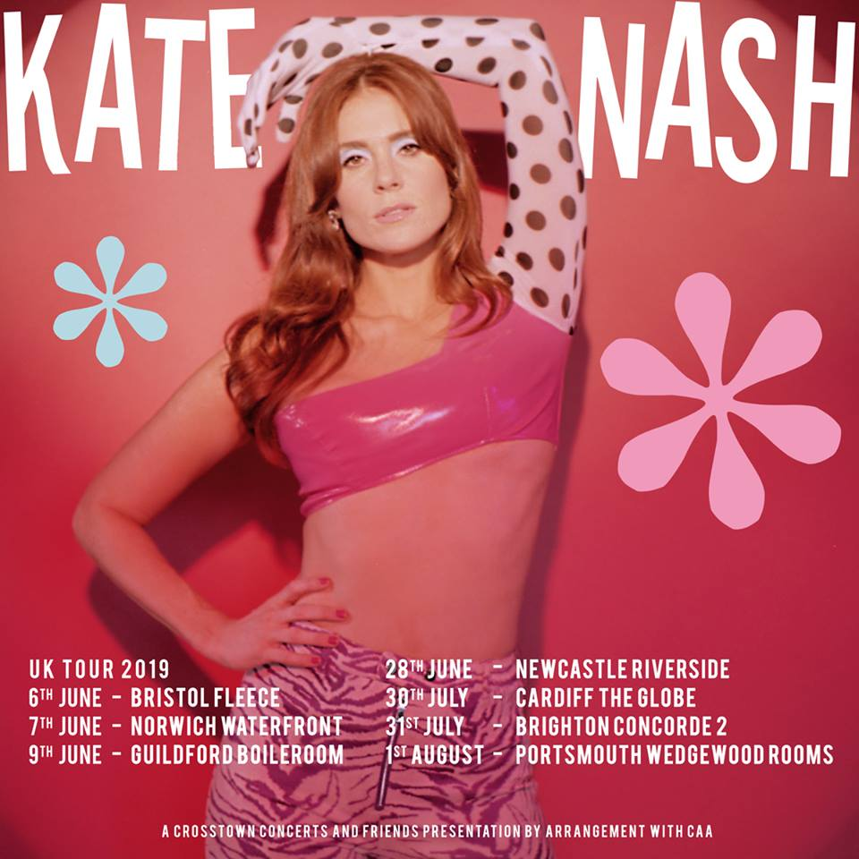 Kate Nash 2019 UK tour.
