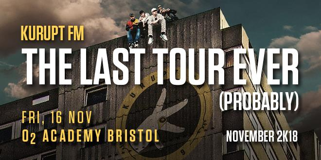 The poster for Kurupt FM's last-ever tour... probably.