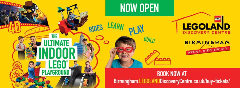Don't miss the special prices on offer this weekend at Legoland Discovery Centre Birmingham!