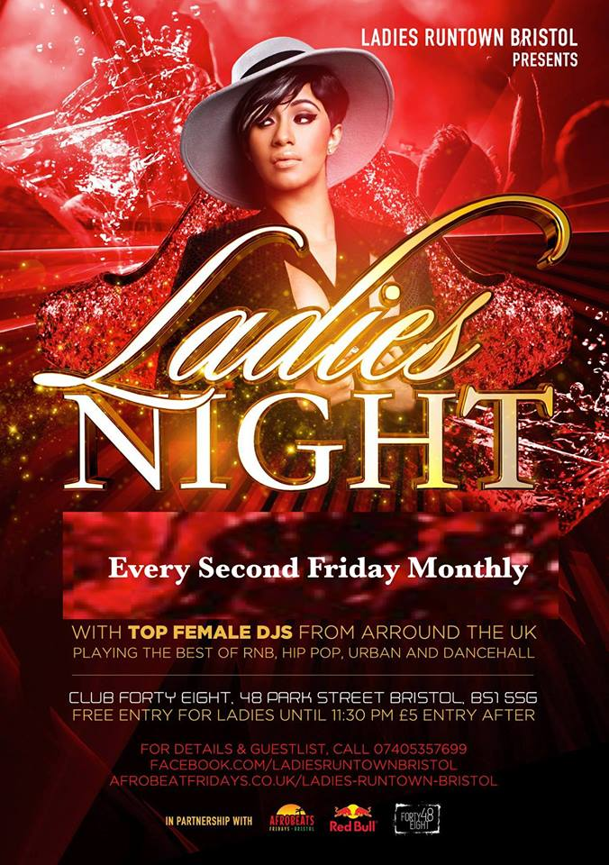 Ladies Night at Club 48 on Park Street in Bristol