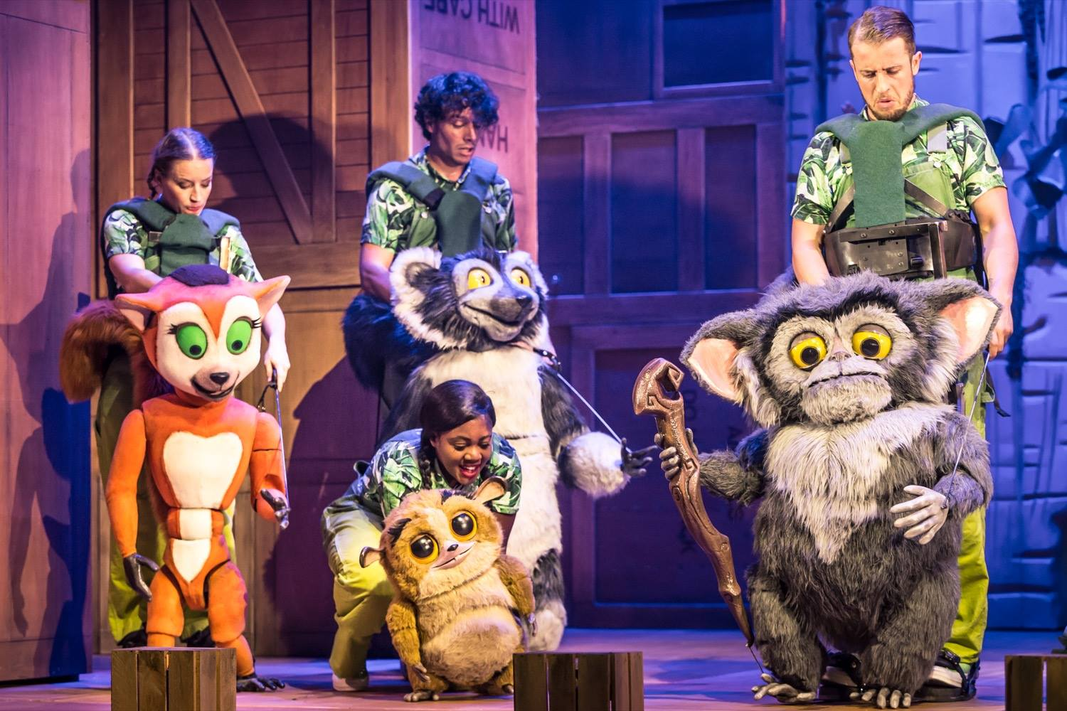 Madagascar The Musical at The Hippodrome in Bristol