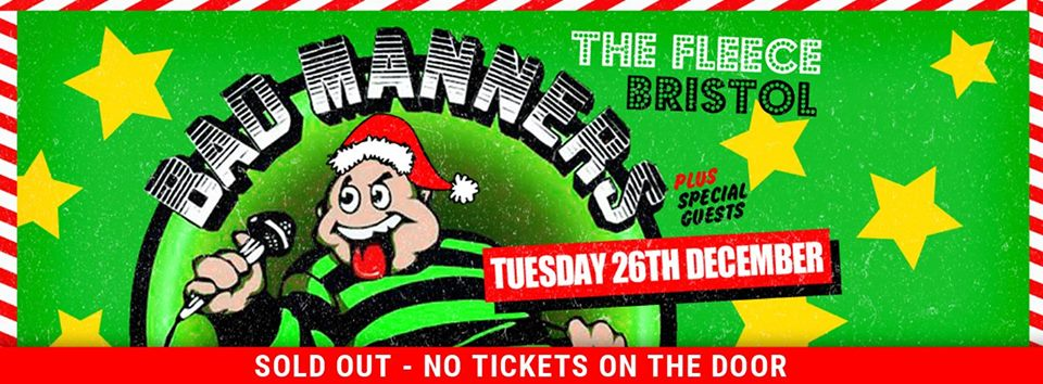 Bad Manners at The Fleece is now sold out, but look below for links to potential ticket updates.