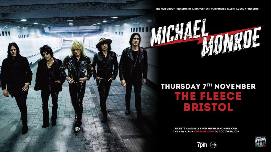 Michael Monroe at The Fleece // Thursday 7th November 2019