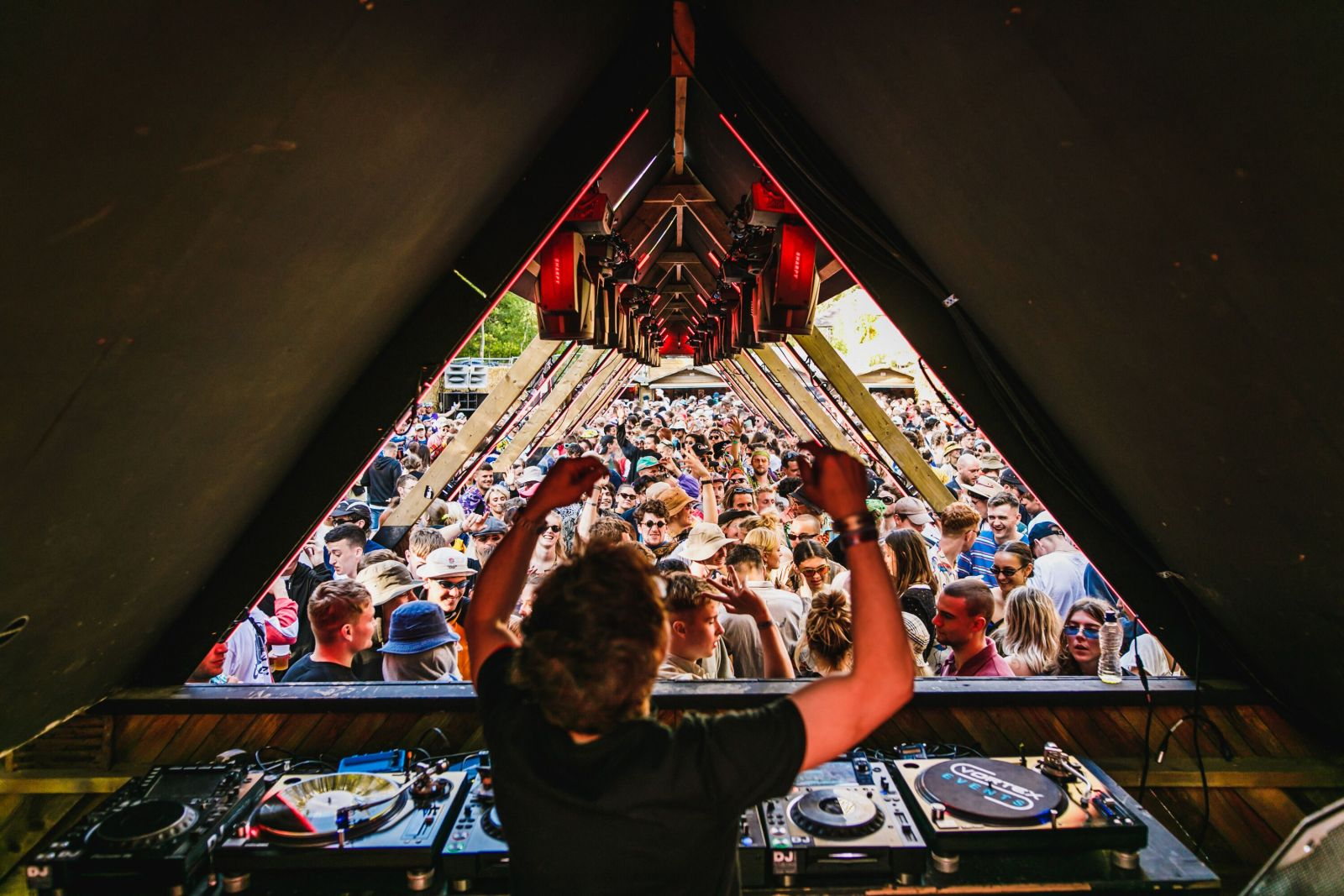 Move D's Disco Set // Sunday, Gottwood 2019. Image: Jake Davis for Khroma Collective