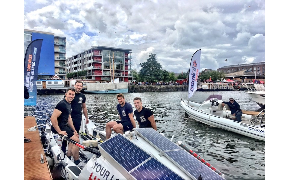 Bristol friends take part in Atlantic Rowing Challenge for Movember Charity