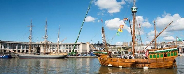 Set sail and enjoy the Captain Barnacle Pirate Panto aboard The Matthew of Bristol