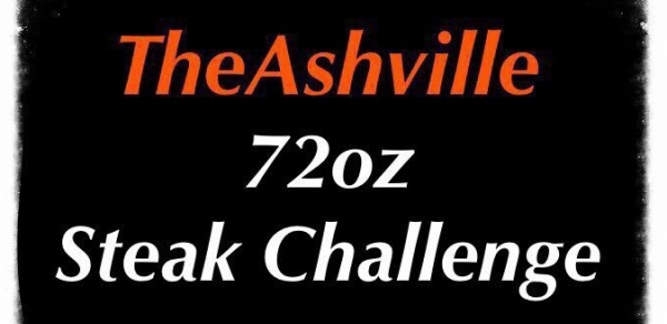 Steak challenge at The Ashville