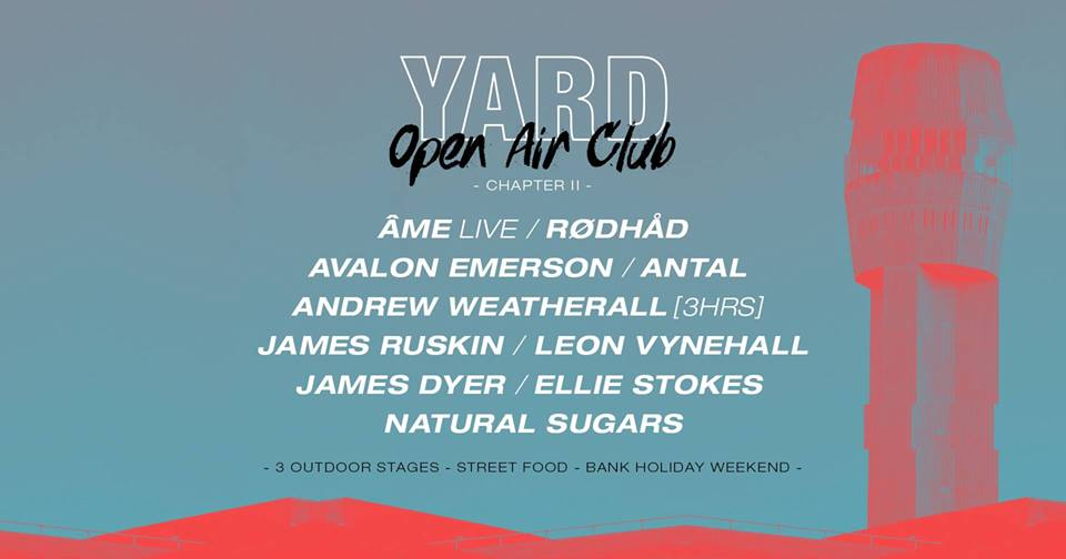 The full lineup for this year's Yard: Open Air Club at Motion.