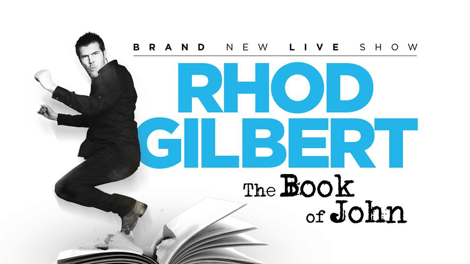 Rhod Gilbert's Book of John.