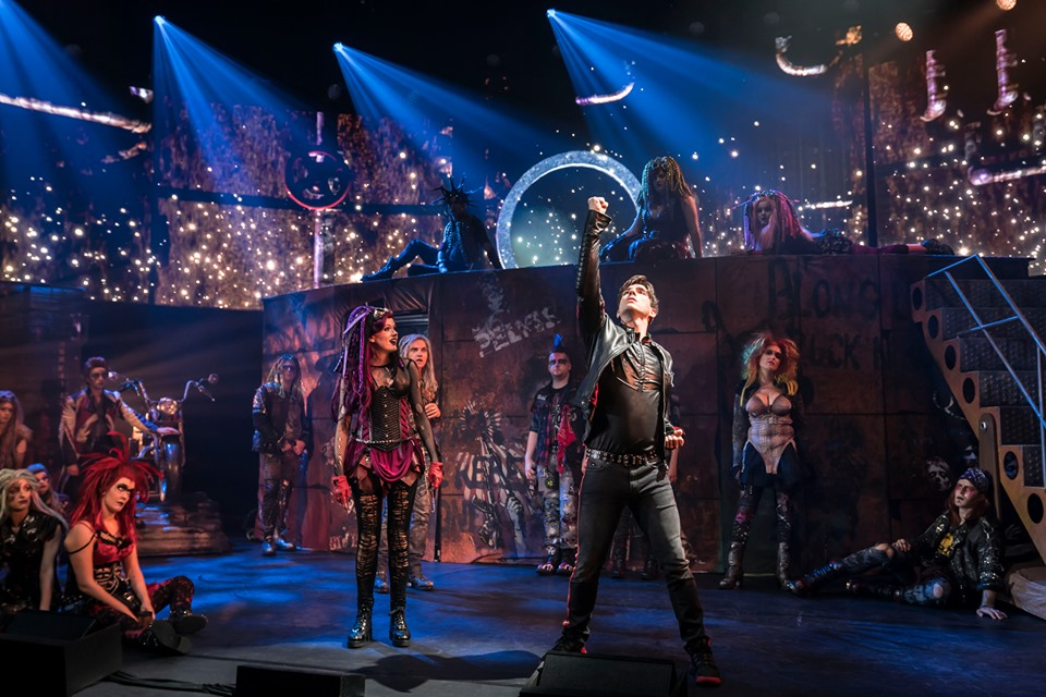 We Will Rock You at the Bristol Hippodrome.