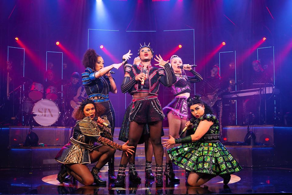 Six the Musical at the Bristol Hippodrome.
