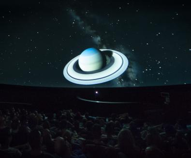 Exploring the Solar System 2D and 3D at At-Bristol