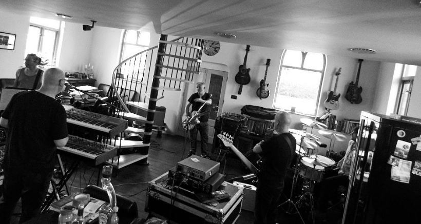A snapshot of a recent Spear of Destiny rehearsal session, in preparation for their upcoming shows.