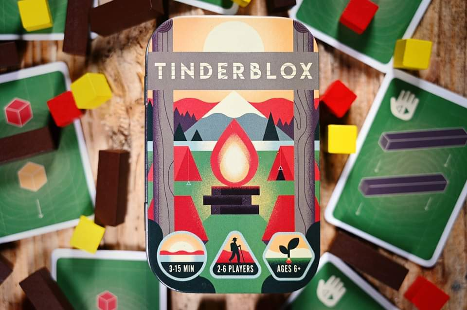 Tinderblox by Board Game Bud.