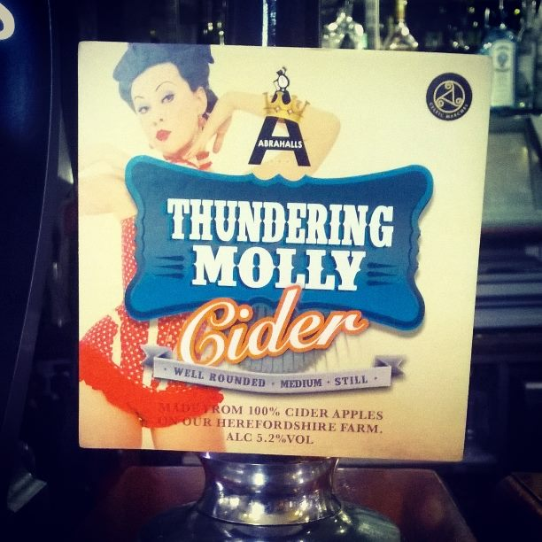 Thundering Molly Cider at The Star in Bristol