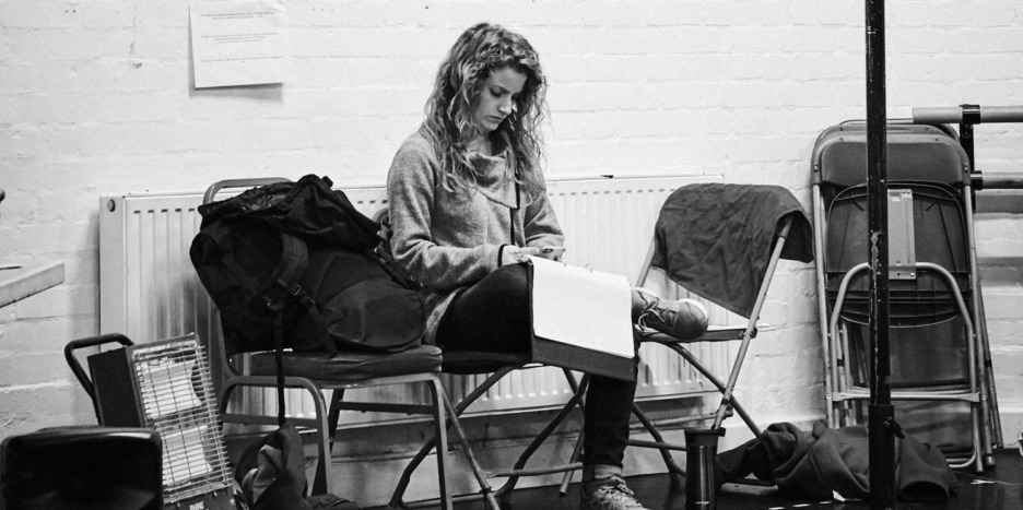 A View from the Bridge in rehearsals at Tobacco Factory Theatre in Bristol