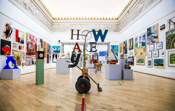 The RWA's 168th Annual Open Exhibition is open to visitors until Sunday 9 May