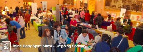 0ab42a14a0f9cb Mind Body Spirit Show in Chipping Sodbury on Saturday 25 April 2015