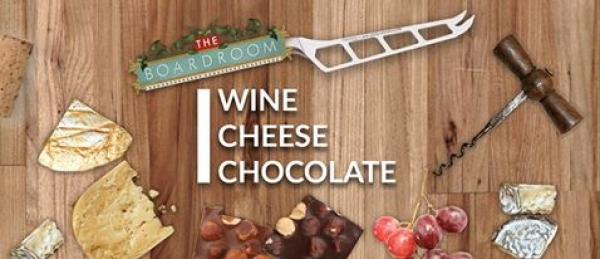 Boardroom Bristol Wine, Cheese and Chocolate night on 29 September
