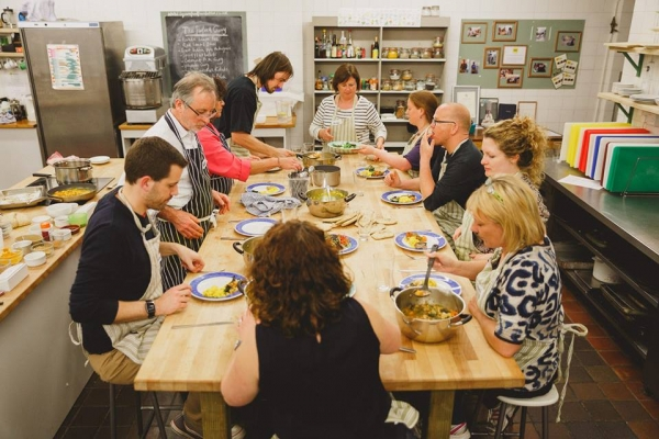 Pasta Making Demo and Dinner at Spike Island Cafe in Bristol on Friday 27th January 2017