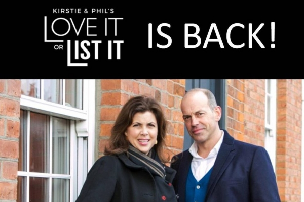 Kirstie and Phil are back in the market for Bristol TV participants