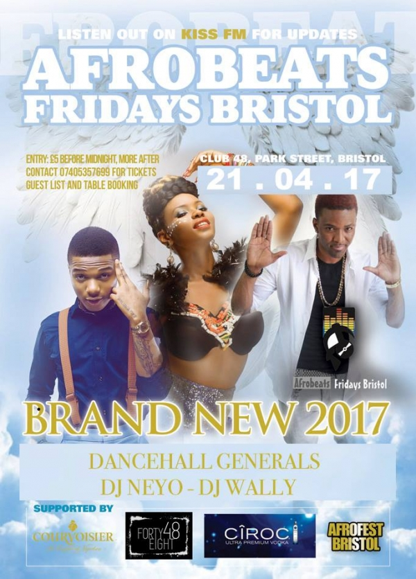 Afrobeats at Club Forty Eight in Bristol - Friday 21st April