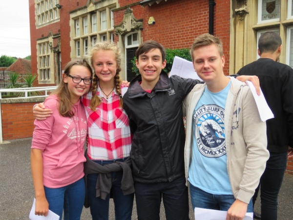 Fantastic GCSE results at Colston's School