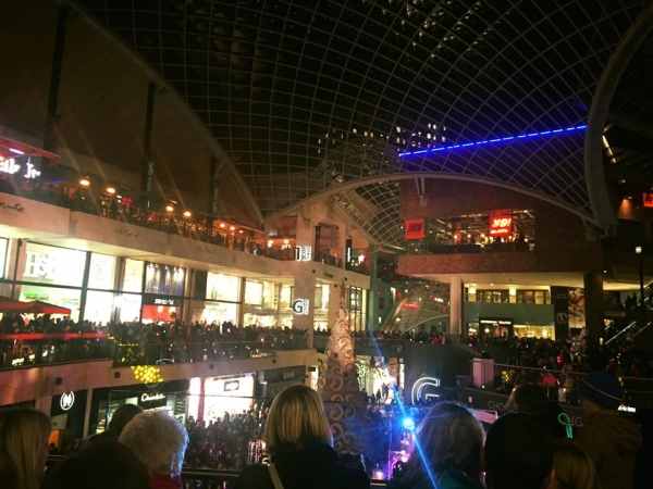 Cabot Circus Christmas Lights Switch On 10th November 2017