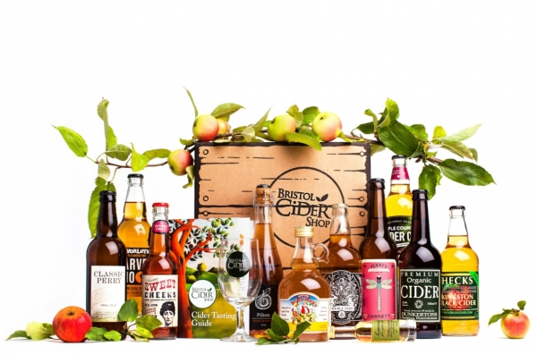 Solve your free-from gift-giving dilemmas with Bristol Cider Shop's Cider Tasting Kit