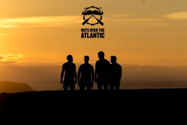 Nuts Over The Atlantic help Bristol boys fundraise for The Movember Foundation