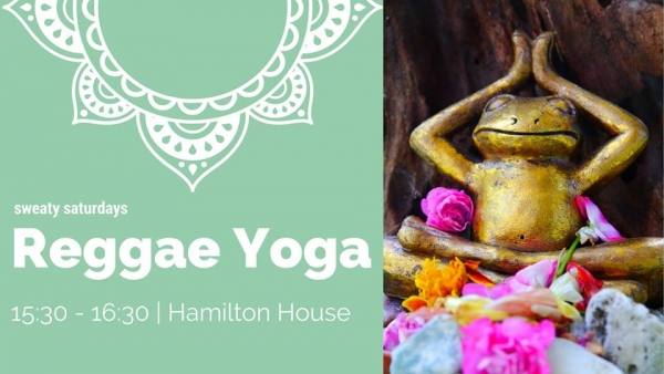 Reggae Yoga at Hamilton House in Bristol 13th Jan 2018