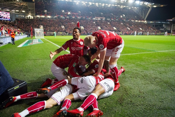 Bristol City stun Manchester United to progress to Carabao Cup Semi Finals