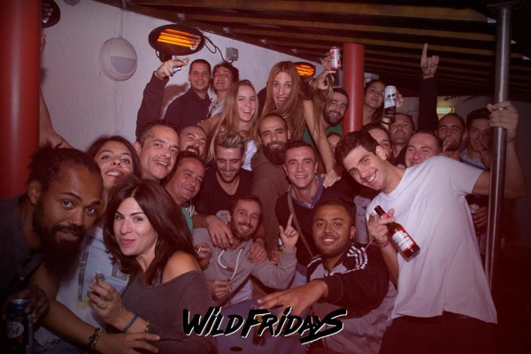Wild Fridays at Jack of Diamonds on Friday 29 December 2017
