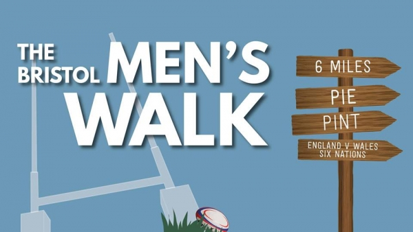 The Bristol Men's Walk at Somerdale Pavilion on Saturday 10 February 2018