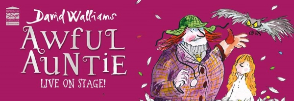 David Walliams' Awful Auntie to arrive in Bristol for ten shows at the Hippodrome in May 2018