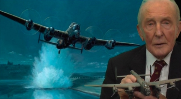 "Remembering ""The Dambusters"" Operation with George ""Johnny"" Johnson MBE at Thornbury Castle Hotel on Sunday 18th February 2018"