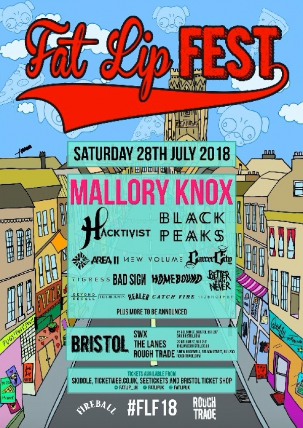 Limited tickets still remaining for Fat Lip Fest 2018 - book yours today!