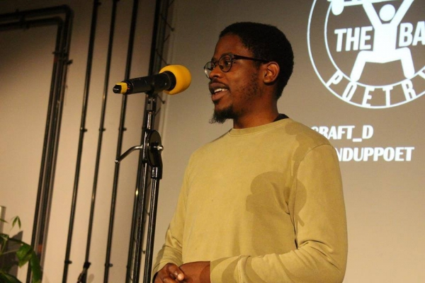 Spotlight Poetry: Open Mic & Saili Katebe at Crofters Rights on Wednesday 11th April 2018