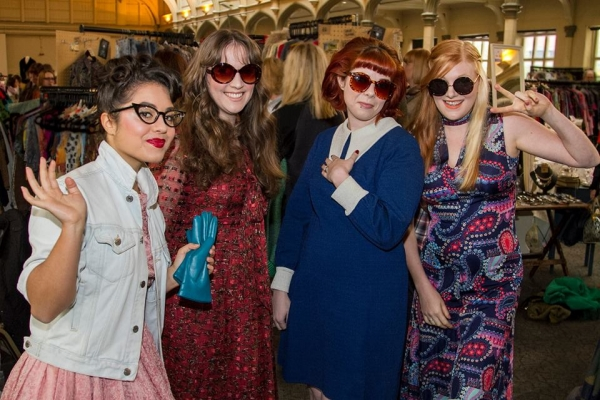 Lou Lou's Bristol Vintage Fair at The Passenger Shed on Saturday 14th April 2018