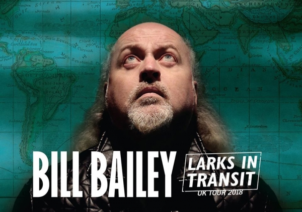 Bill Bailey: Larks In Transit at Bristol Hippodrome on Friday 11th & Saturday 12th May 2018