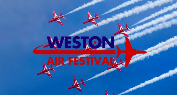 Weston Air Festival at Weston-super-Mare Seafront on Saturday 23rd & Sunday 24th June 2018
