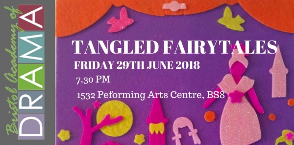 Bristol Academy of Drama set to bring beloved Tangled Fairytales show to Bristol's 1532 Performing Arts Centre this Friday 29th June
